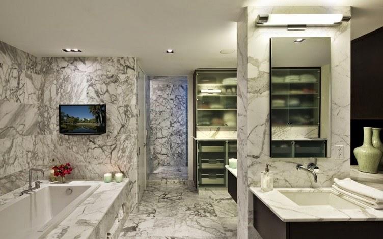 revestimiento-pared-baño-marmol