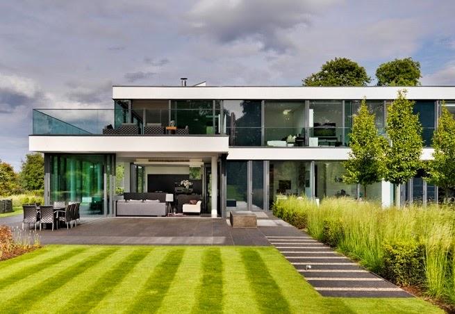 Casa de campo moderna a orillas del r o t mesis arquitexs for Casa moderna en el campo