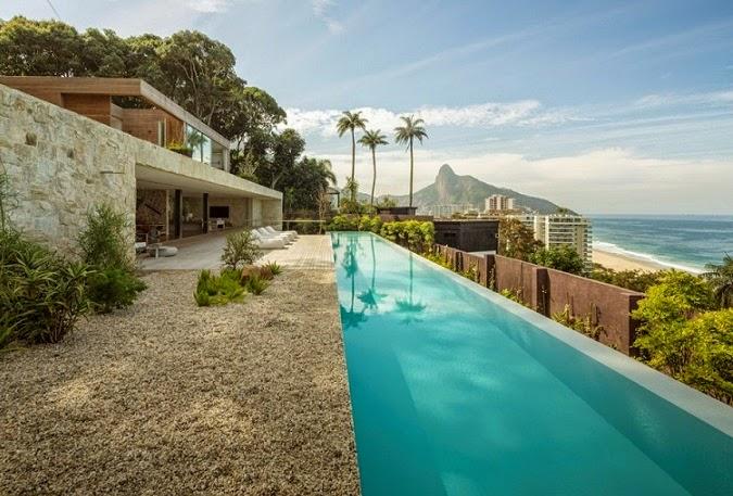 Casa al studio arthur casas rio de janeiro brasil for Casas modernas brasil