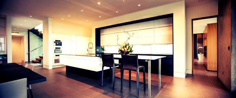 cocina-moderna-casa-Waterfall