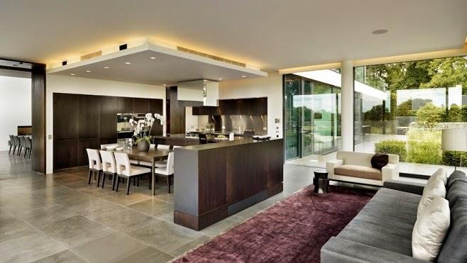 Casa de campo moderna a orillas del r o t mesis arquitexs for Diseno de casas de campo modernas