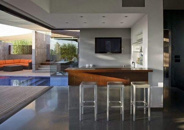 Fachada de acero corten chen suchart studio arquitexs for Bares modernos para casas