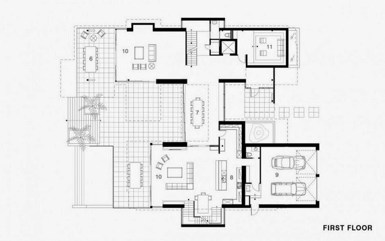 plano-casa-moderna-de-tres-pisos