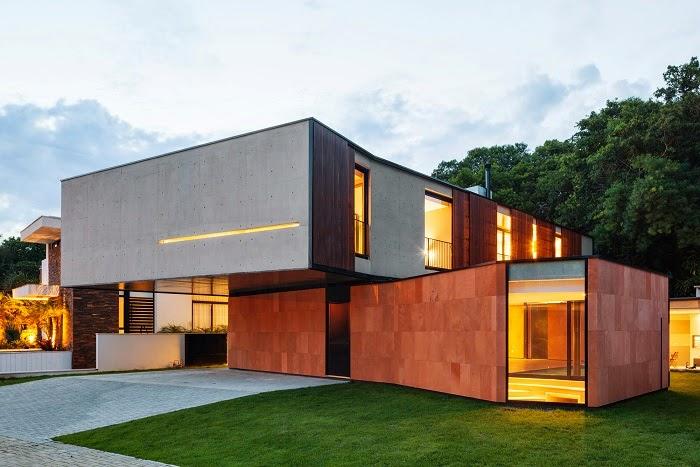 Casa nsn biselli katchborian arquitetos curitiba brasil arquitexs - Arquitectos casas modernas ...