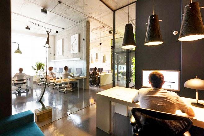 Oficina y showroom taller arquitectura sergey makhno for Diseno de oficinas arquitectura