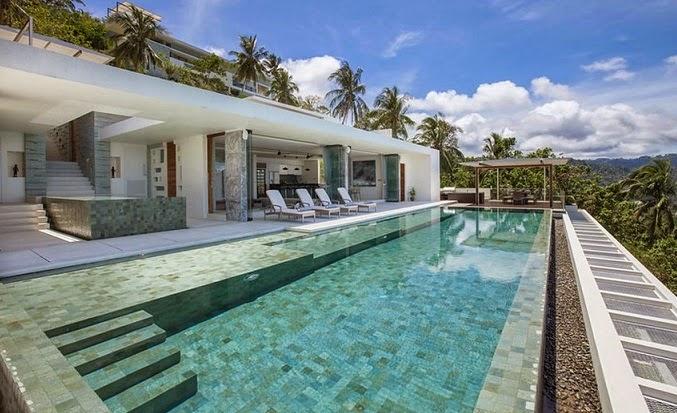 arquitectura-minimalista-Villa-de-lujo-koh-Samui