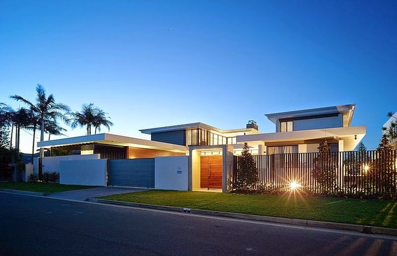 Casa moderna riverfront bda architecture broadbeach for Arquitectura china moderna