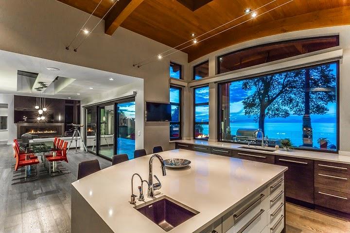 Casa cadence modernas fachadas en madera vancouver canad arquitexs - Arquitectos y decoradores de interiores ...