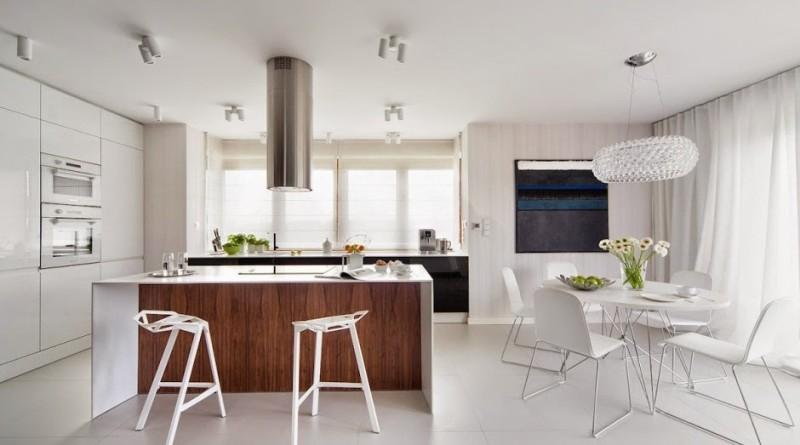 Casa d58 decoraci n interior minimalista polonia for Decoracion de interiores de casas minimalistas