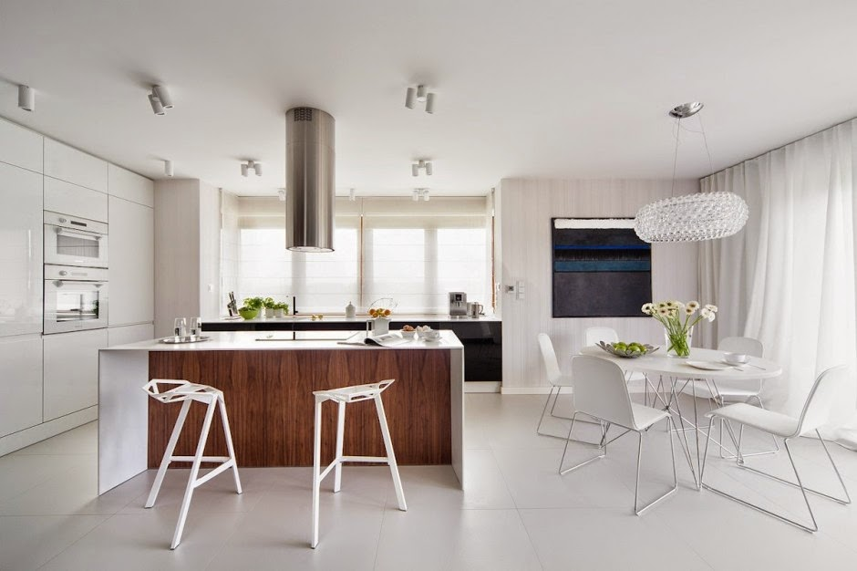 Casa d58 decoraci n interior minimalista polonia - Salones de diseno minimalista ...