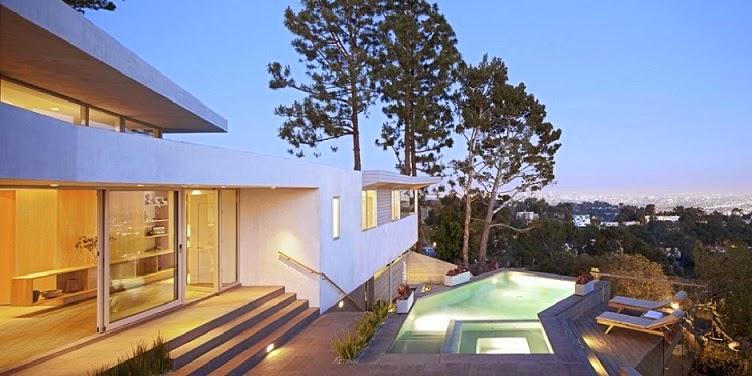 Casa minimalista deronda space international los - Casa los angeles ...