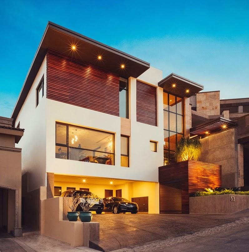 Casa r35 contempor nea y funcional m xico arquitexs - Arquitectos casas modernas ...