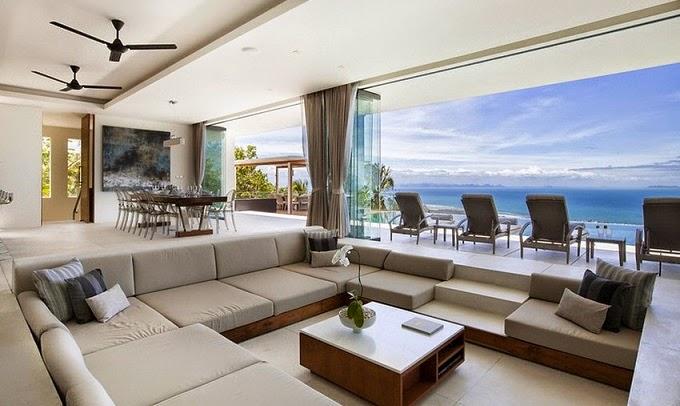 Villa de lujo koh samui gfab arquitectos tailandia for Lujo interiores minimalistas