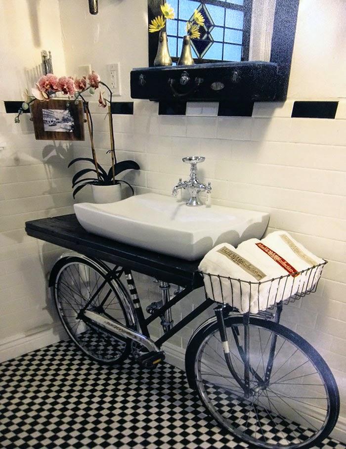 Lavabo bicicleta