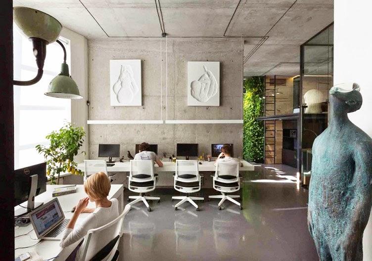 Oficina y showroom taller arquitectura sergey makhno for Oficinas arquitectura