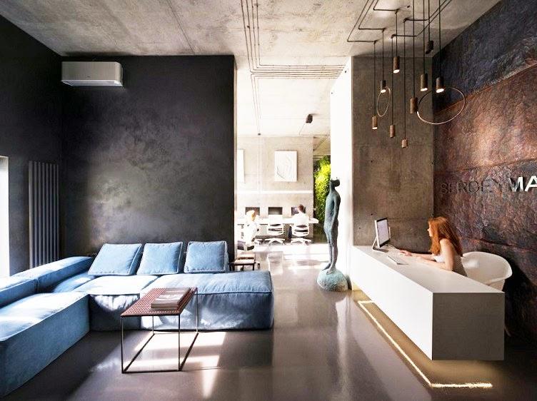 recepcion-Oficina-Showroom-Taller-Arquitectura-Sergey-Makhno