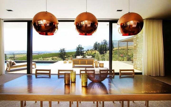 comedor-moderno-casa-Hillside
