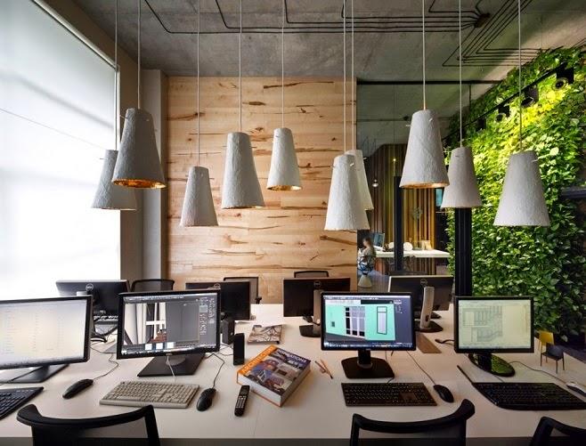 Oficina y showroom taller arquitectura sergey makhno for Interiores de oficinas minimalistas
