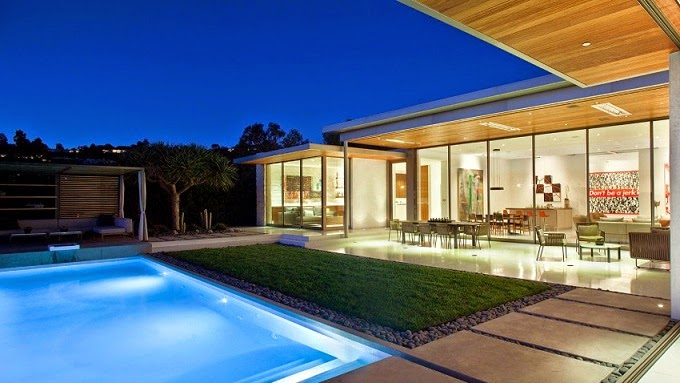 Casa Moderna En Beverly Hills Studio William Hefner