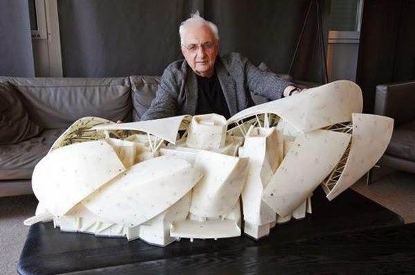 Fundación Louis Vuitton / Arquitecto Frank Gehry