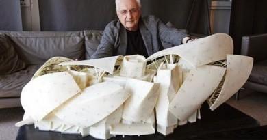 Arquitecto-Frank-Gehry-maqueta-Fundación-Louis-Vuitton1