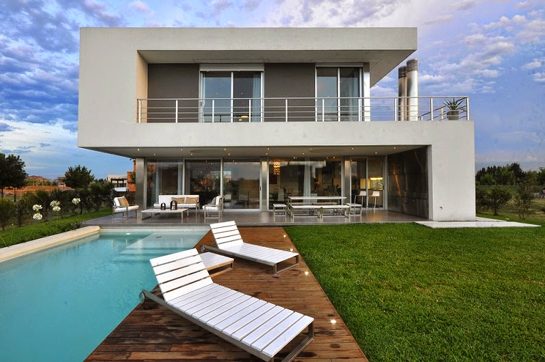 Casa cabo arquitectura minimalista en buenos aires argentina for Casa modelo minimalista
