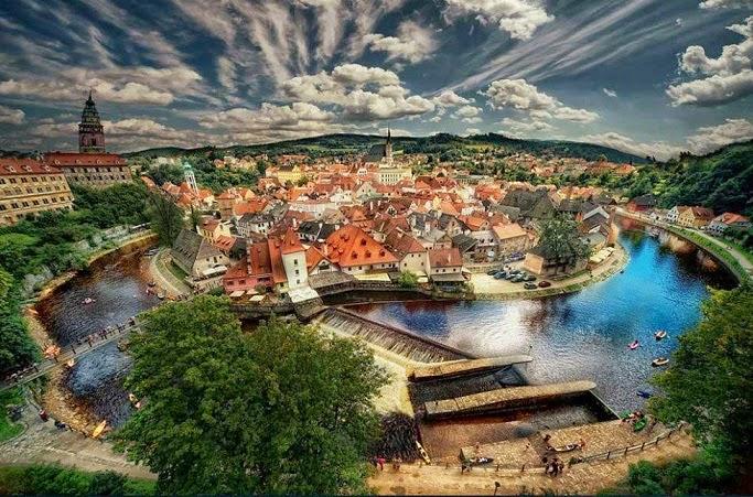 arquitectura-casas-Boemia-Republica-Checa-ciudades de cuentos