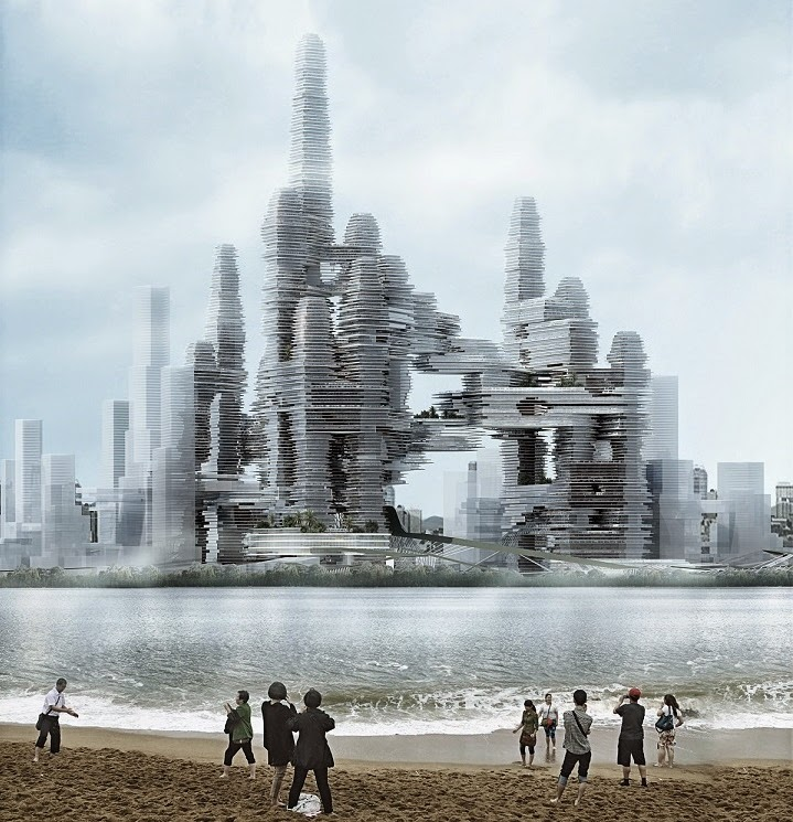 "Diseño futurista ""Cloud Citizen"" gana concurso ""Super City Competition"""