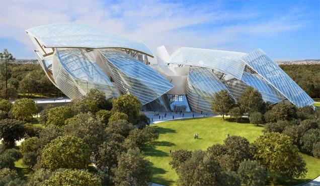 Arquitectura-edificio-Fundación Louis Vuitton / Arquitecto Frank Gehry