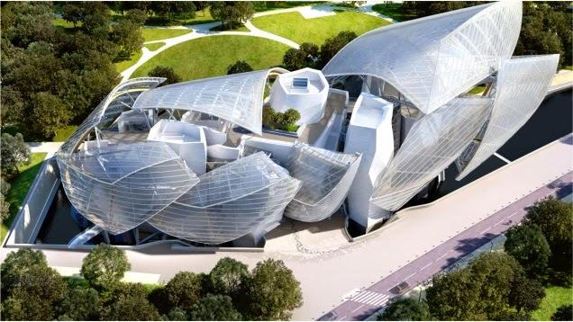 Diseño-Fundación Louis Vuitton / Arquitecto Frank Gehry