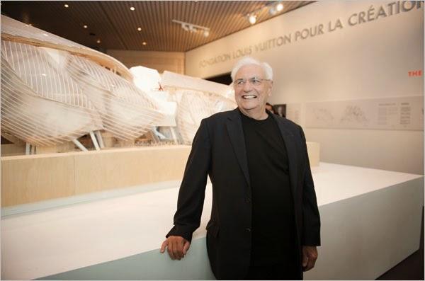 Arquitecto Frank Gehry Fundación Louis Vuitton paris