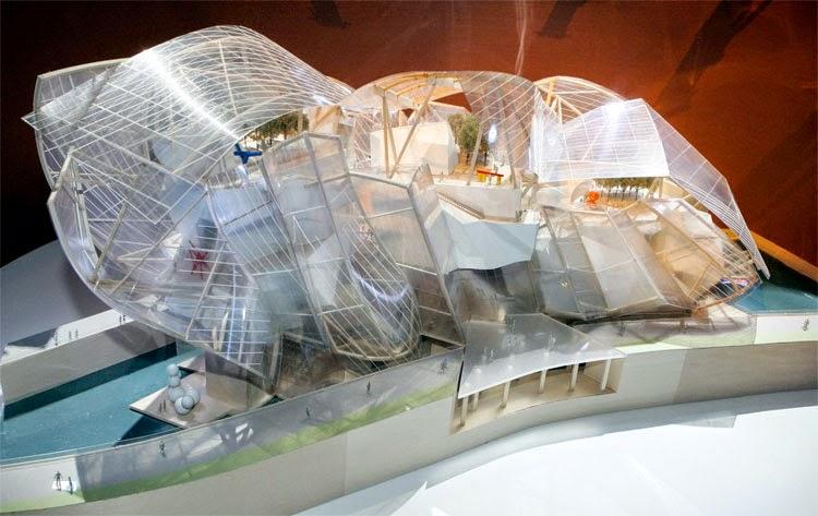 Maqueta-Fundación Louis Vuitton / Arquitecto Frank Gehry