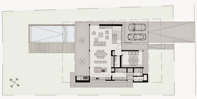 Casa cabo arquitectura minimalista en buenos aires argentina for Casas minimalistas planos