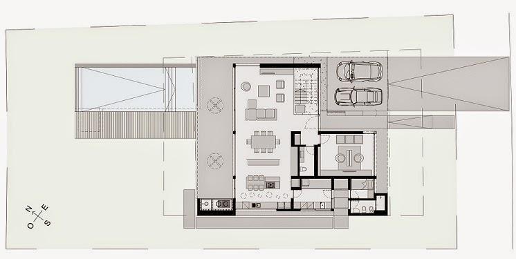 Casa cabo arquitectura minimalista en buenos aires argentina for Casa minimalista planos
