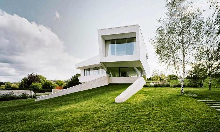 Casa Minimalista Freundorf Project A01 Viena Austria