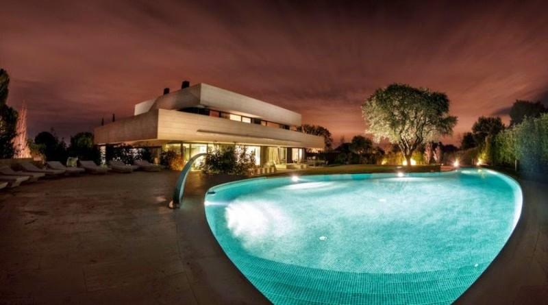arquitectura-casa-con-piscina-madrid