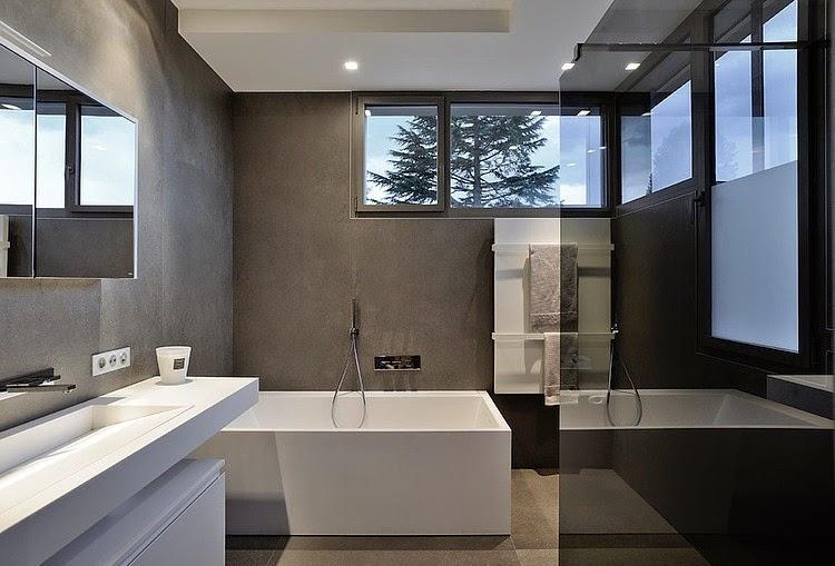 Baño De Lujo Moderno:bano-moderno