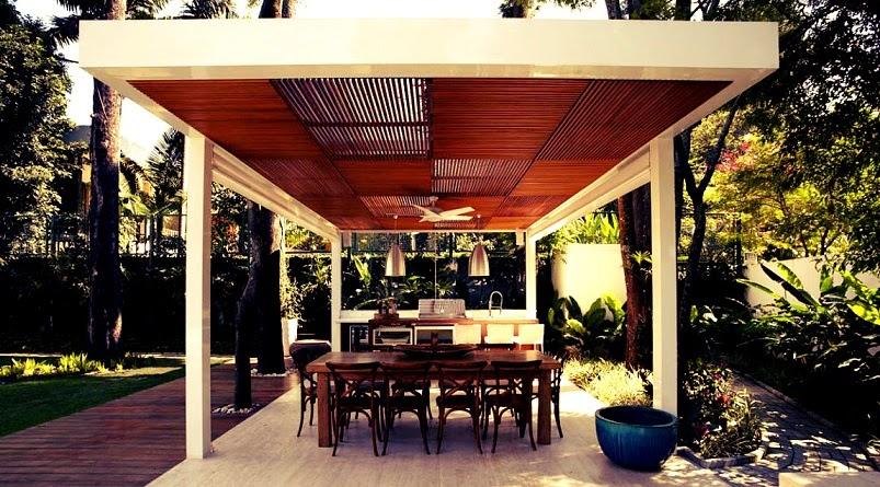 terraza-barbacoa-Casa-Morumbi-Arquitectura-brasil