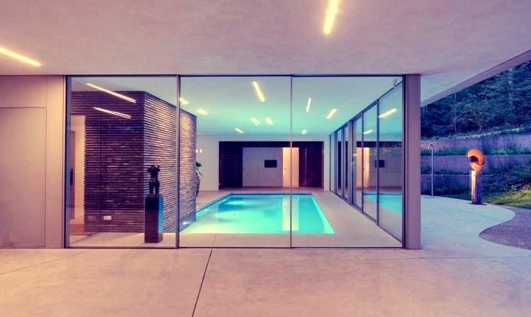 Villa dune hilberinkbosch arquitectos pa ses bajos arquitexs - Casas con piscina interior ...
