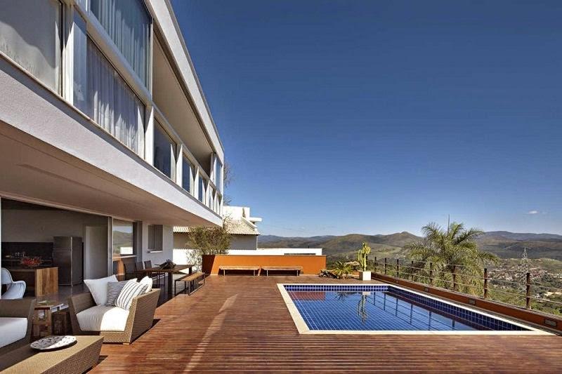 casa del Lago Minas Gerais, Brasil