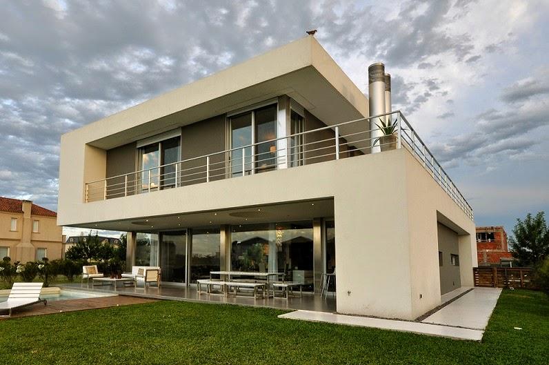 Casa cabo arquitectura minimalista en buenos aires argentina for Casas tipo minimalista