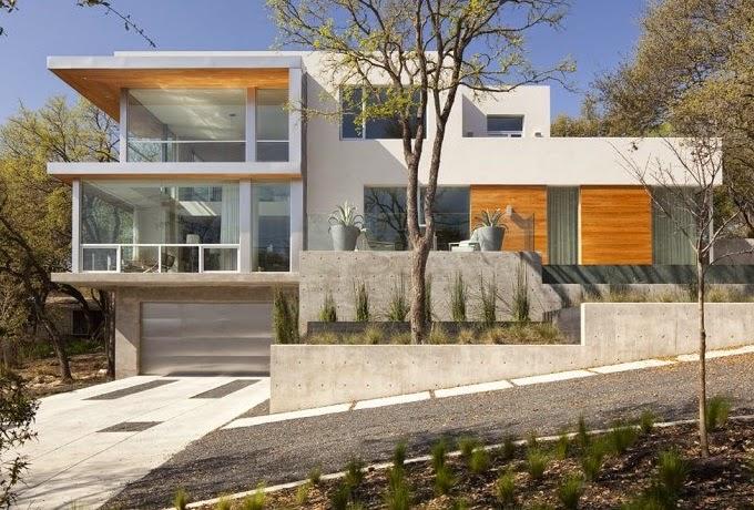Casa moderna con vistas a austin by dick clark for Case con scantinati in texas