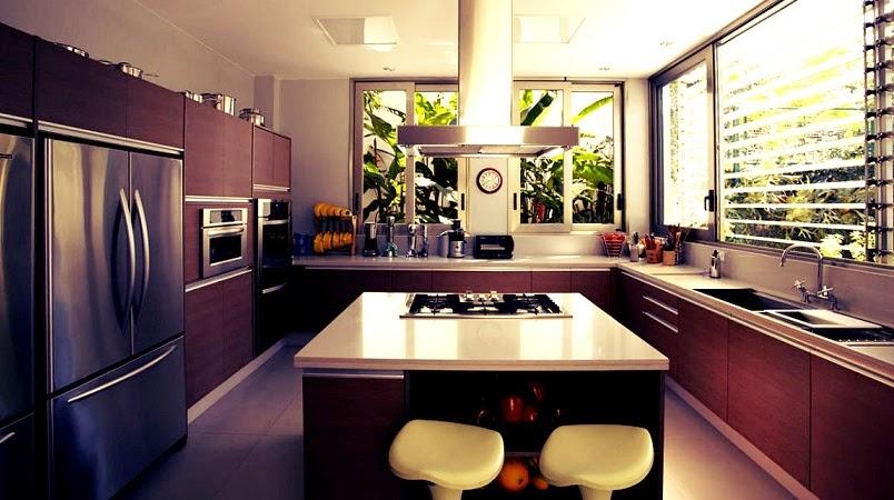 cocina-moderna-Casa-Morumbi-Arquitectura-brasil