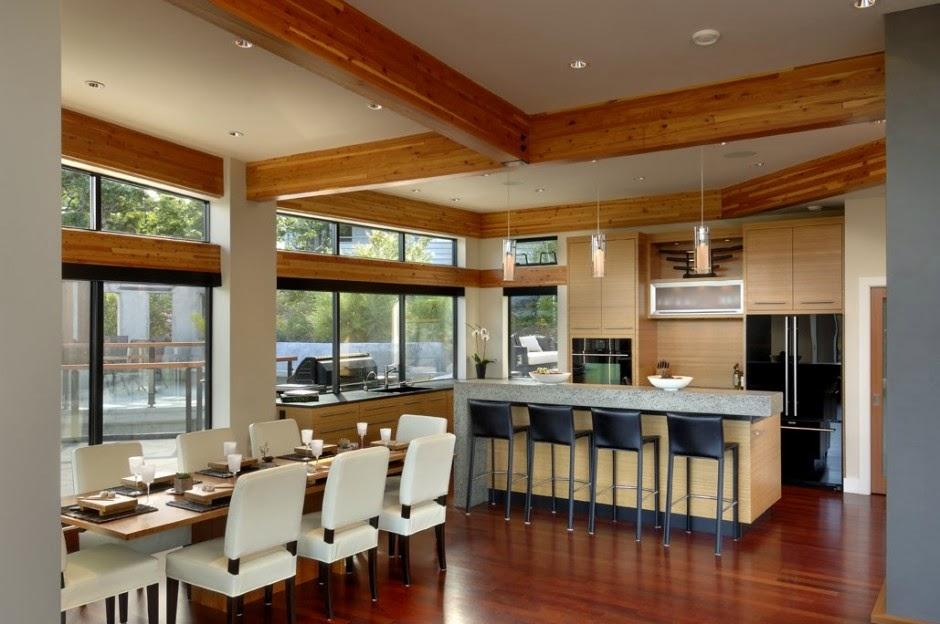Arquitectura contempor nea armada house kb design for Diseno sala comedor cocina