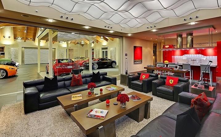 Decoración Interior Inspirada en Ferrari / Bellevue, Washington, EE ...