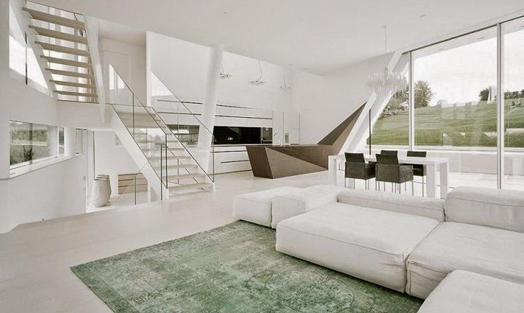 Casa minimalista freundorf project a01 viena austria for Casa minimalista arquitectura