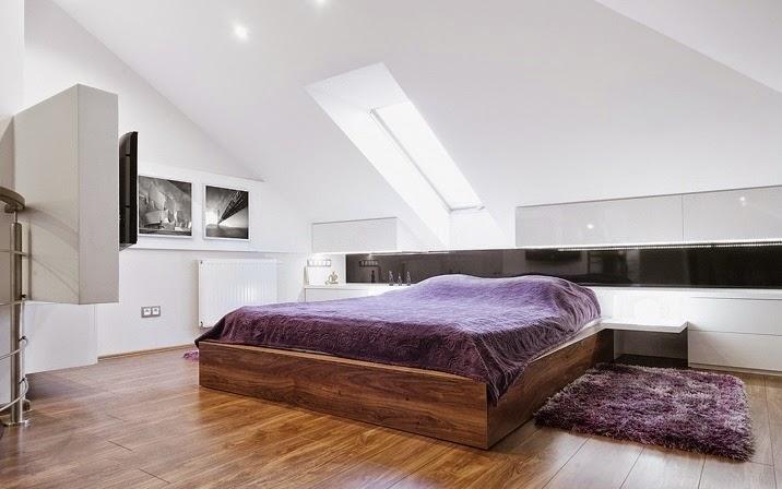 dormitorio Diseño interior apartamento dúplex