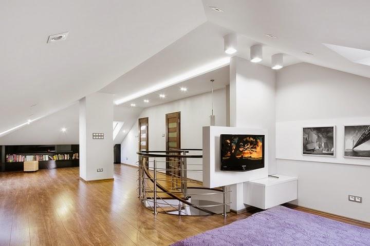 habitación-Diseño interior apartamento dúplex