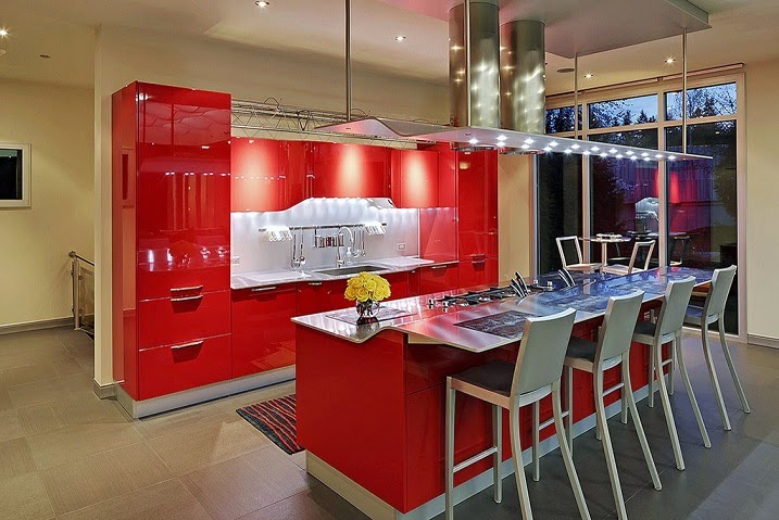 Decoraci n interior inspirada en ferrari bellevue for Cocinas ferrati