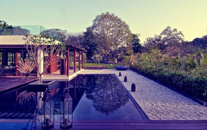 piscina-casa-Courtyard-India